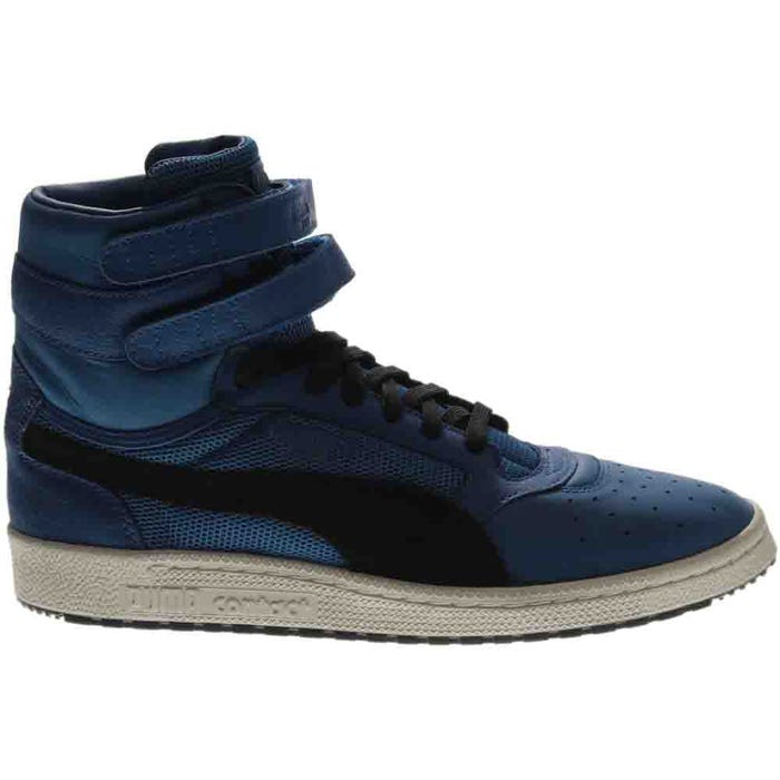 Sky II High Color Blocked Leather