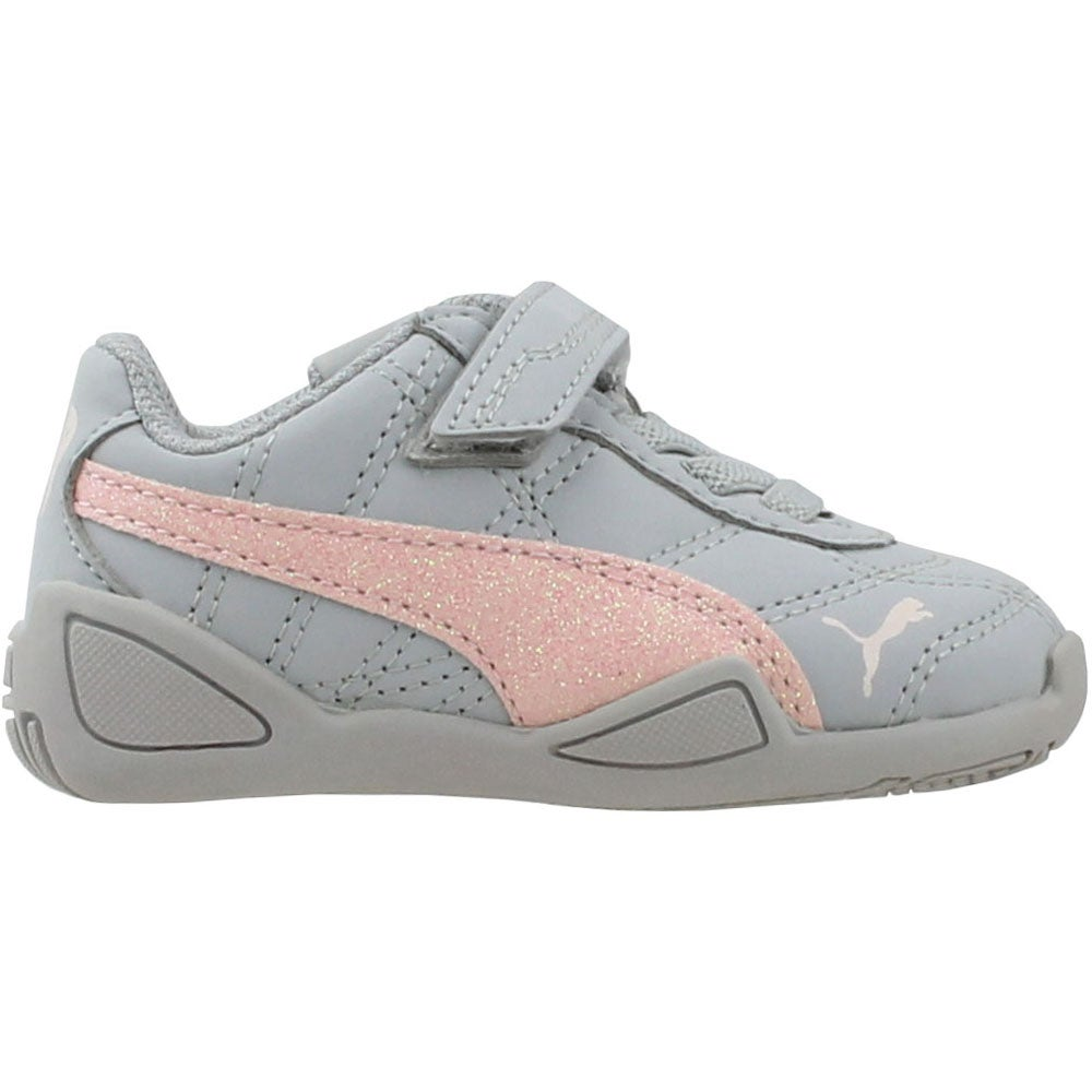 190b4499e7e5 Details about Puma Tune Cat 3 Glam V Infant Sneakers - Grey - Boys