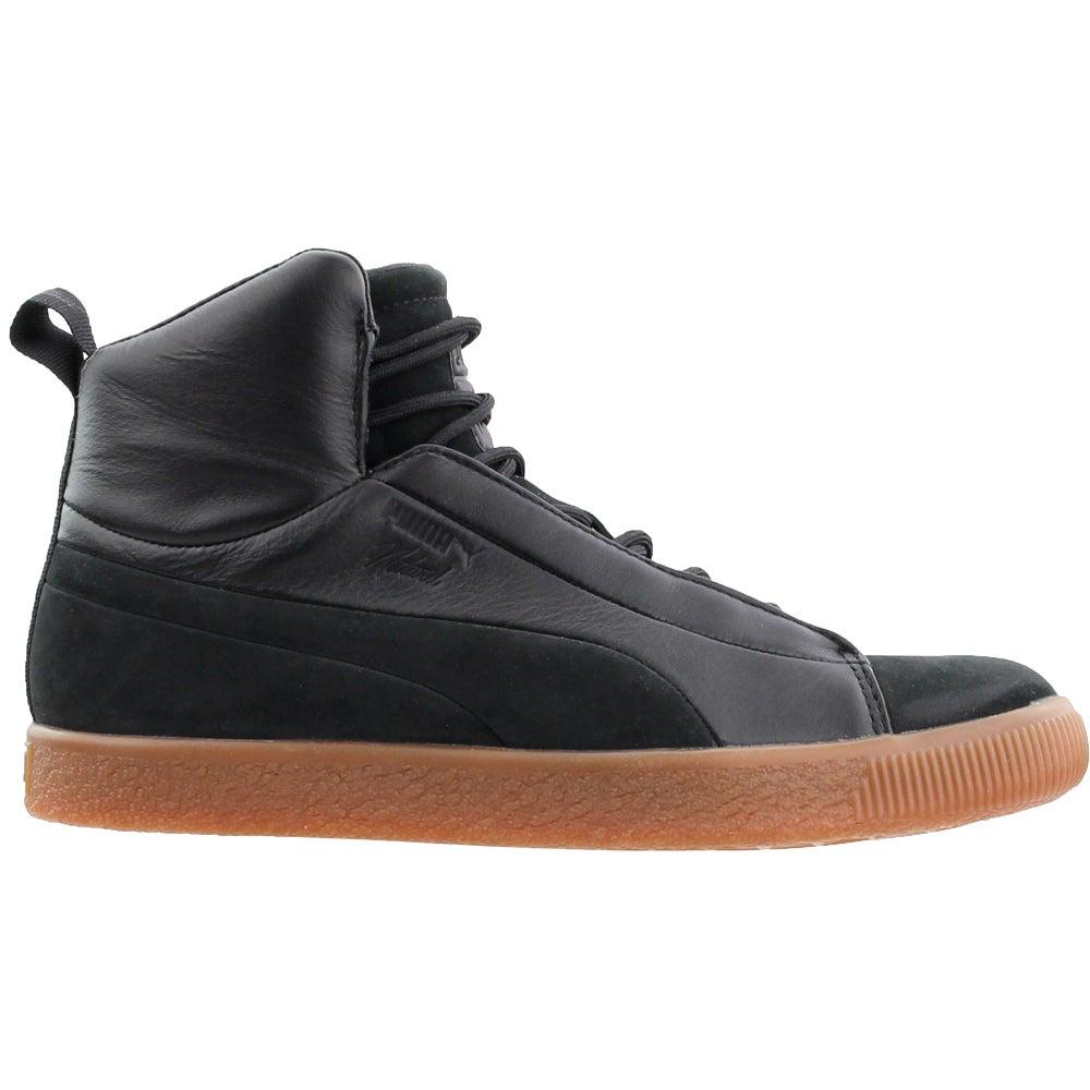 Details about Puma Naturel Clyde FSHN Mid Sneakers - Black - Mens d95bc86f4