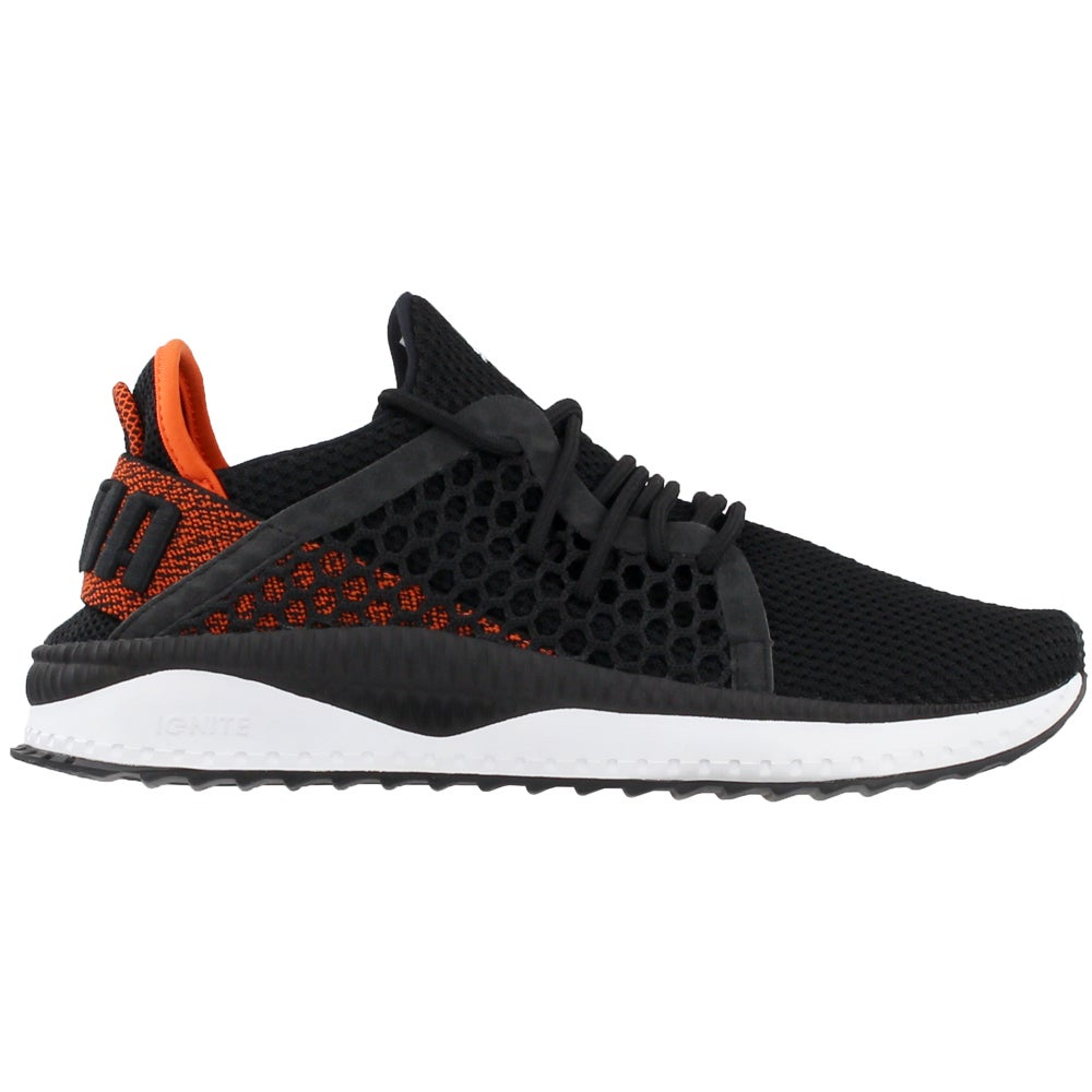 Details about Puma Tsugi Netfit Casual Training Neutral Sneakers Black Mens
