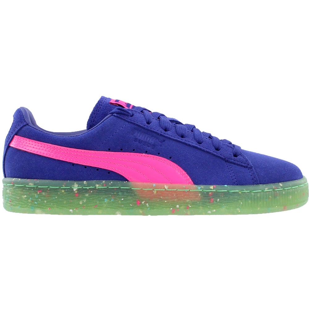 cf440456272d Details about Puma Suede x Sophia Webster Sneakers - Blue - Womens