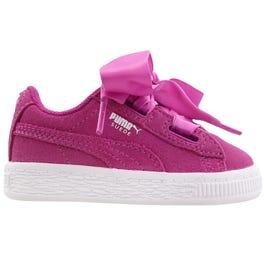 suede heart infant