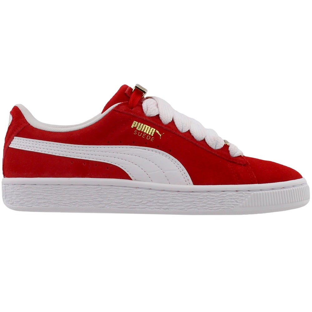 7dc50165186f59 Details about Puma Suede Classic Bboy Fabulous Junior Sneakers - Red - Boys