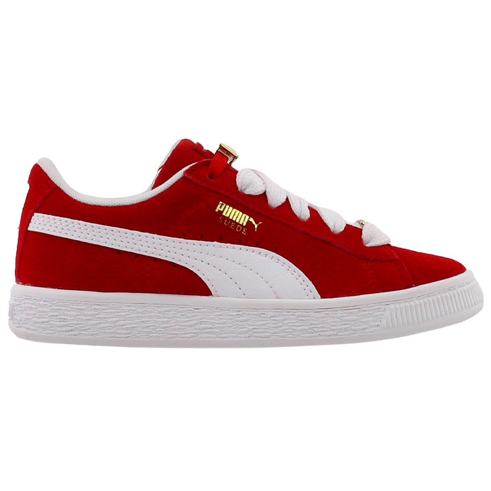 24dea86a Details about Puma Suede Classic B-Boy Fabulous Preschool Sneakers - Red -  Boys
