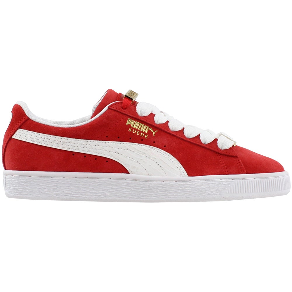 the best attitude 58cbc ac858 Details about Puma Suede Classic Bboy Fabulous Casual Sneakers - Red - Mens