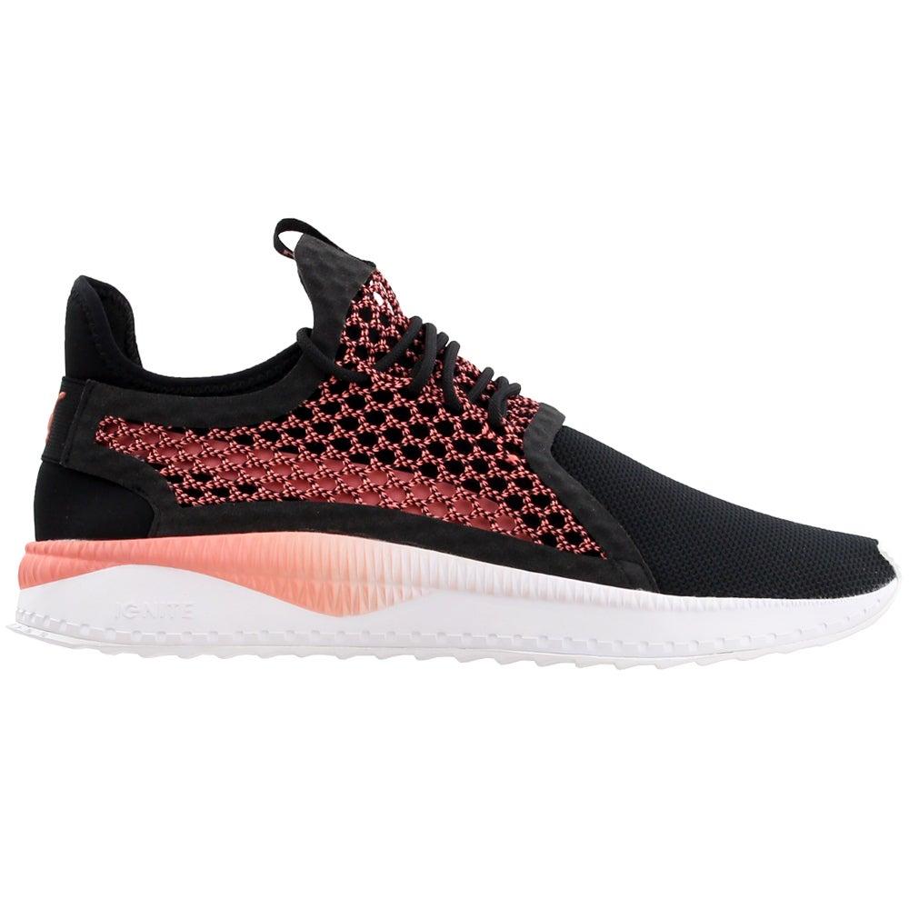 Puma Tsugi Netfit V2 Black Mens Lace Up Sneakers