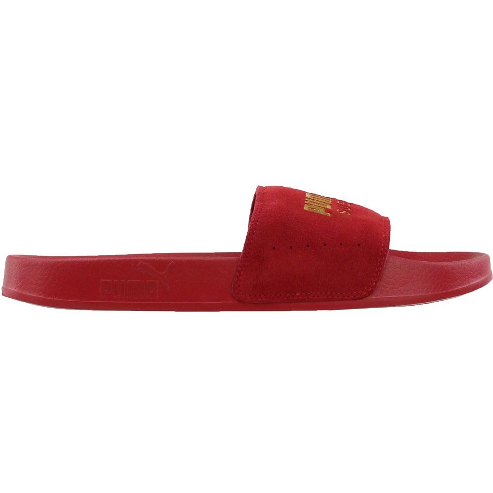 fcc345b1471b Puma Leadcat Suede Sneakers - Red - Mens