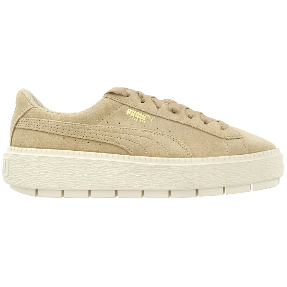 65ee1c7ecca Details about Puma Platform Trace Sneakers - Beige - Womens