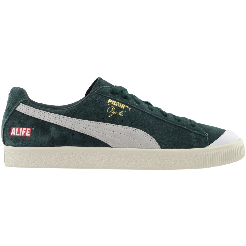 brand new ac1dd b616b Details about Puma Alife Clyde Casual Sneakers - Green - Mens