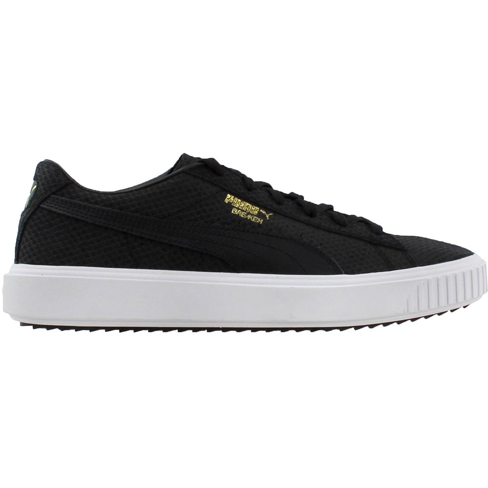 0947dc29cfcad6 Details about Puma Breaker Suede Sneakers - Black - Mens