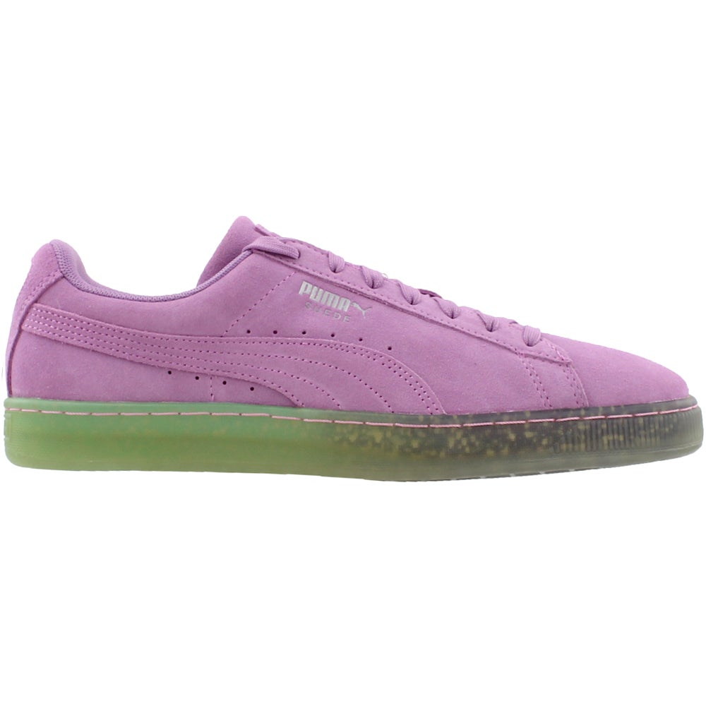 Details about Puma Suede Summer Nights Fade Casual Sneakers Purple Mens
