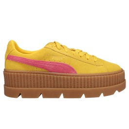 buy online 5848e 2af2c Fenty by Rihanna Suede Cleated Creeper