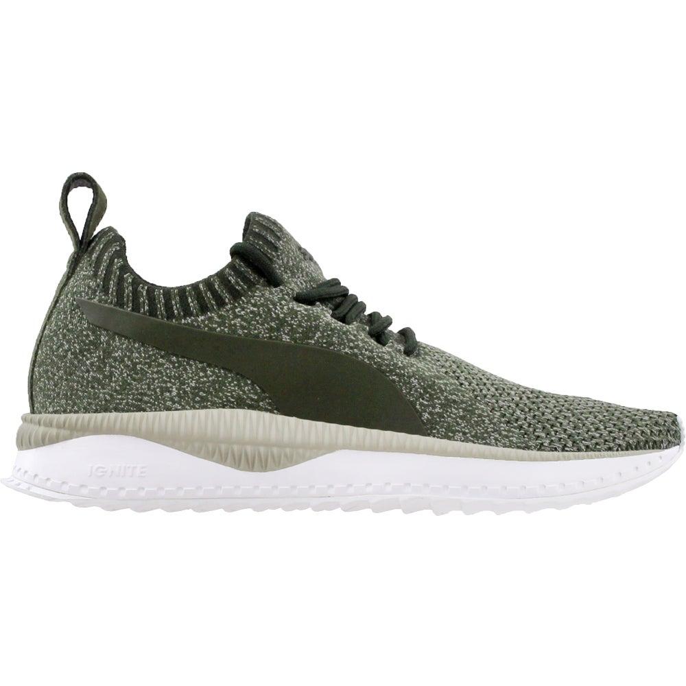 85a53b9d8f64 Details about Puma Tsugi Apex Evoknit Sneakers - Green - Mens