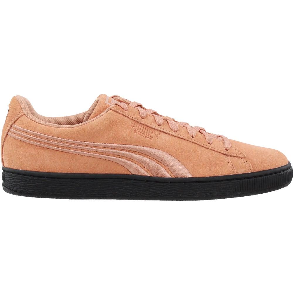 e0e642f7db054a Puma Suede Classic Badge Flip Sneakers - Pink - Mens | eBay