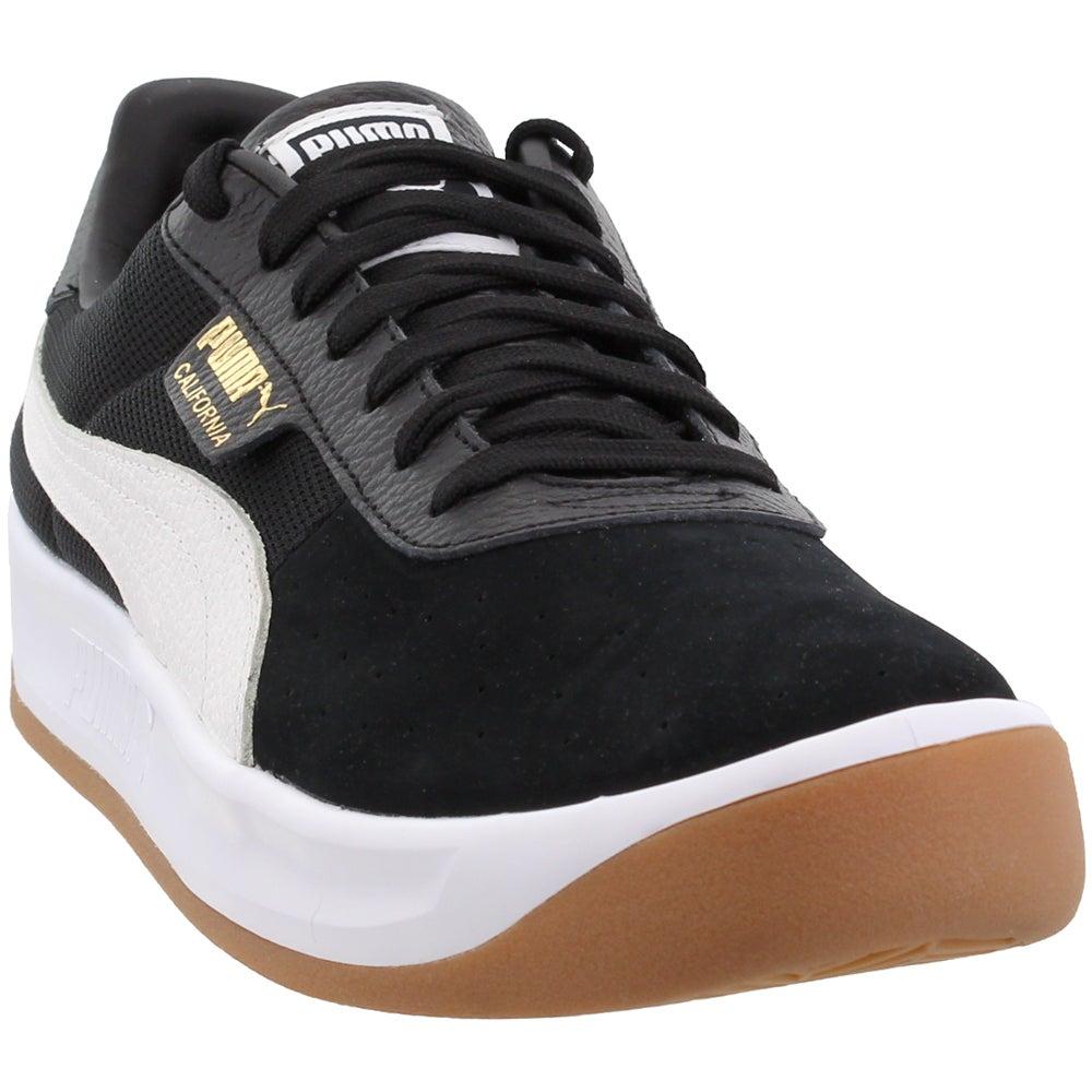 Disturbio dos semanas residuo  Puma California Casual Lace Up Sneakers Black Mens Lace Up Sneakers