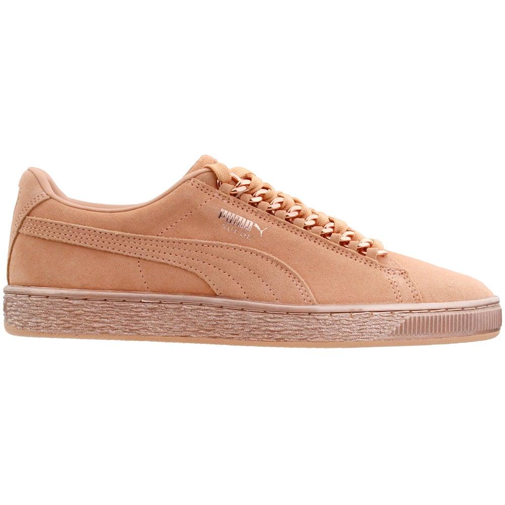 watch e0827 213df Details about Puma Suede Classic X-Chain Junior Casual Shoes - Orange - Boys