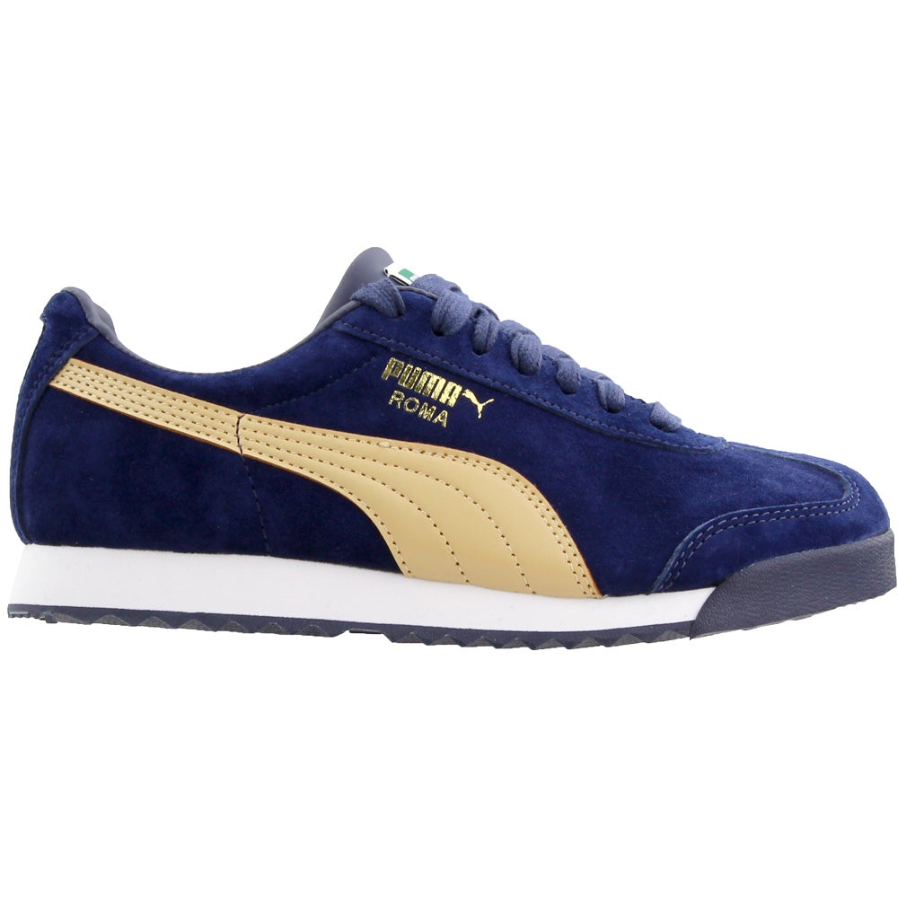 Puma Roma Gents Nubuck Lace Up Sneakers