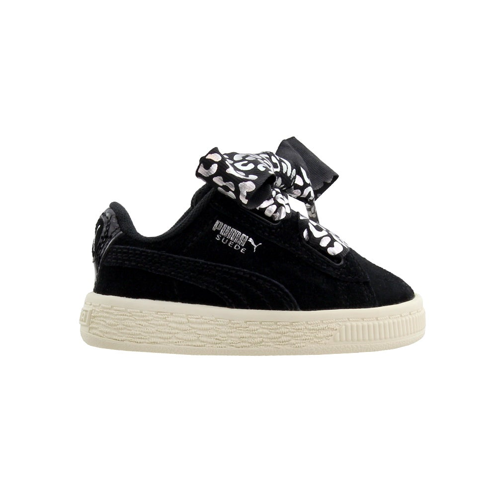 Puma Suede Heart Athluxe infant  Casual   Sneakers - Black - Girls
