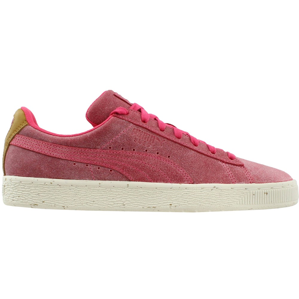 Puma Suede Deco Lace Up Sneakers Pink