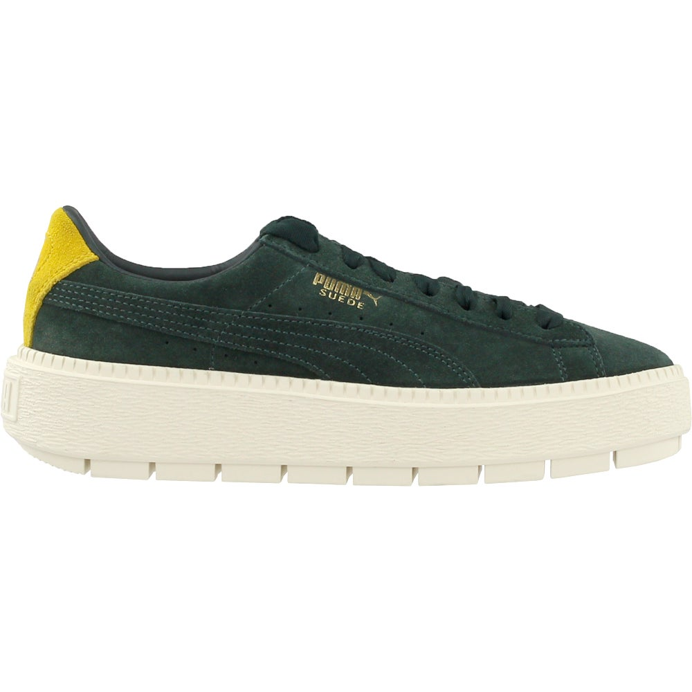 80c89b58095a Details about Puma Platform Trace Bold Sneakers - Green - Womens