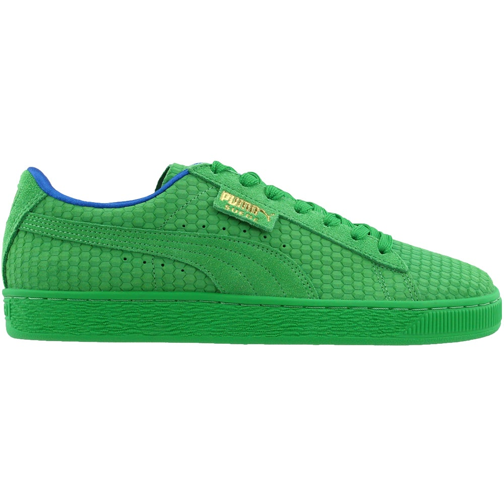 buy online 20ba5 89f66 Details about Puma suede classic archive aop Casual Sneakers - Green - Mens