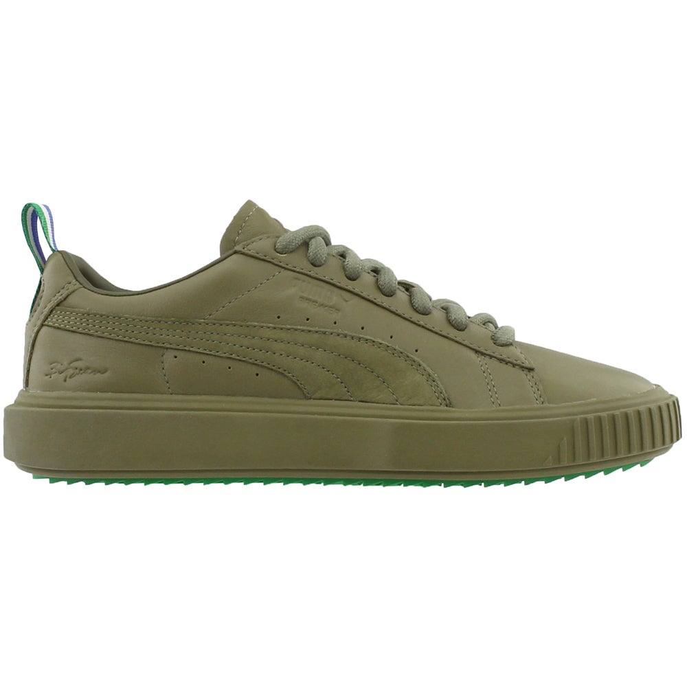 ff1eede761f Details about Puma Big Sean Breaker Olive Sneakers - Green - Mens