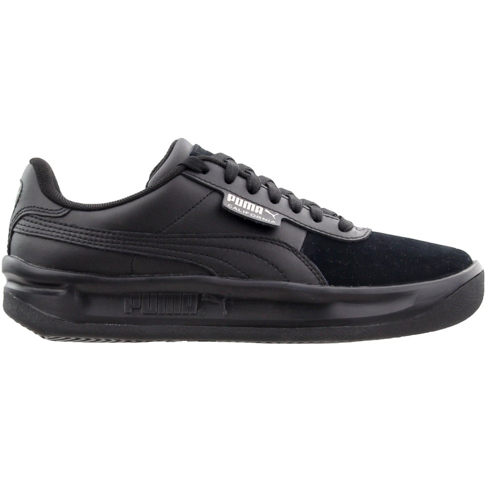 Details about Puma California Exotic Sneakers Casual Black Womens