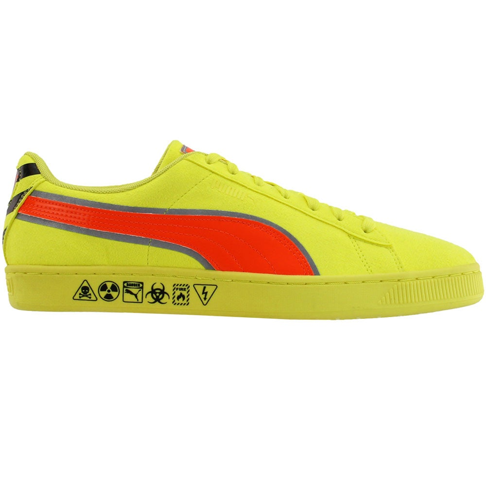 Puma Suede Hazard Lace Up Sneakers