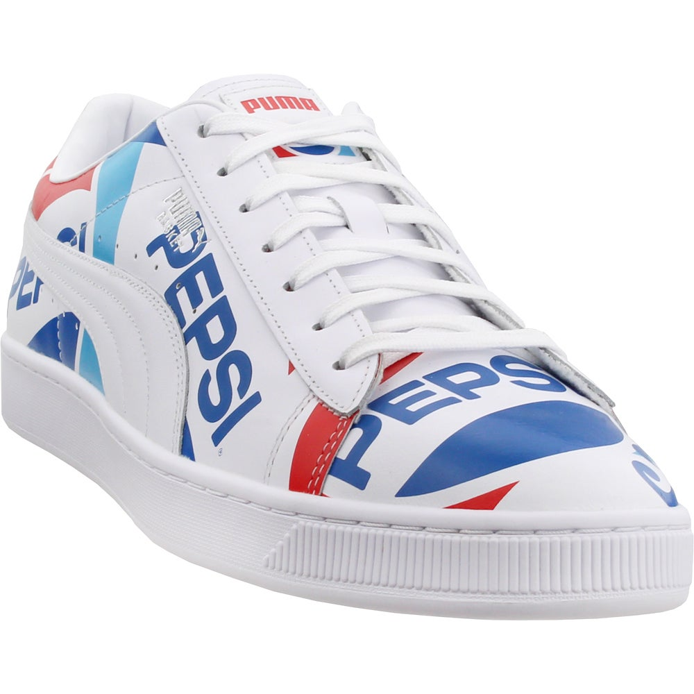 Puma Basket x Pepsi Lace Up Sneakers
