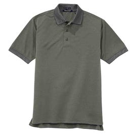 River's End UPF 30+ Jacquard Polo
