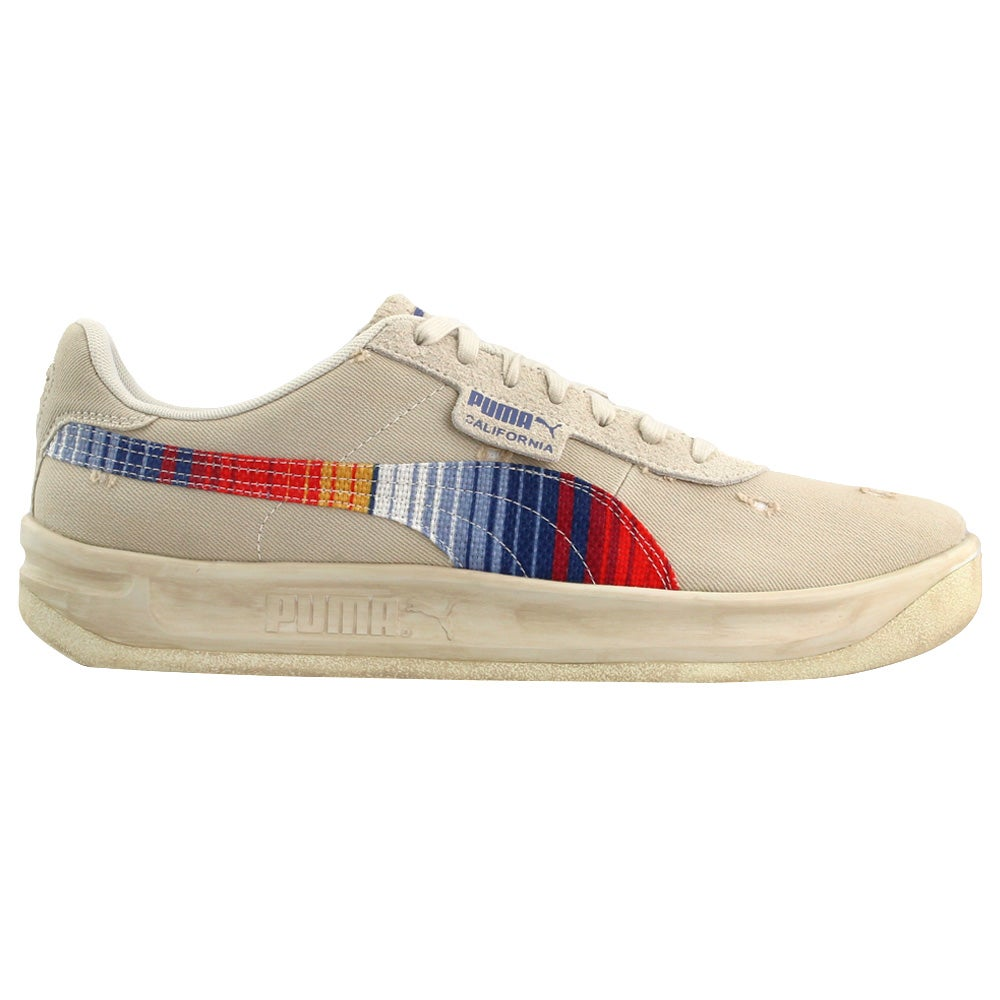 California Vintage Lace Up Sneakers