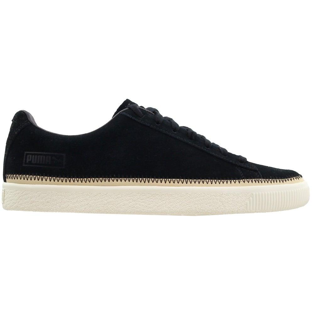 Puma Suede Trim PRM Lace Up Sneakers