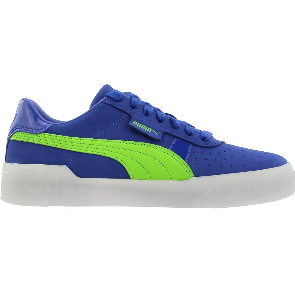 Puma Cali 90's Blue Womens Lace Up Sneakers