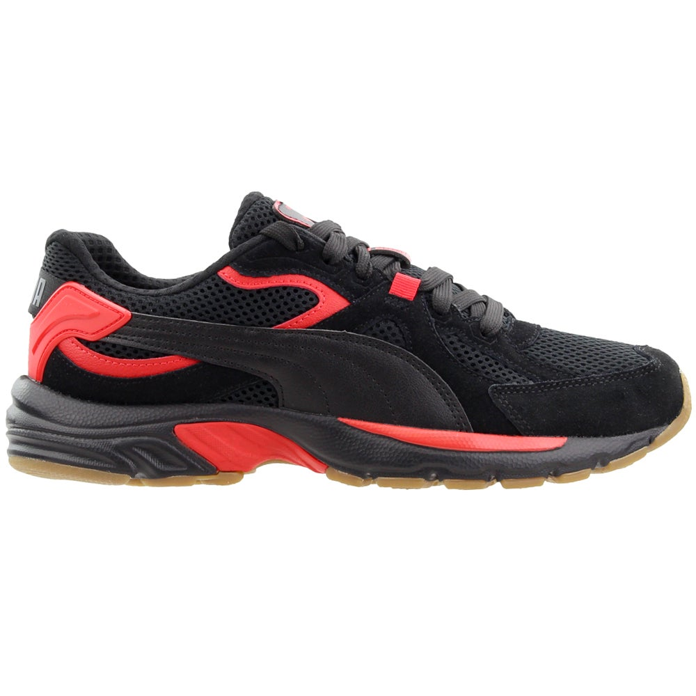 Puma Axis Plus SD Lace Up Sneakers Black Mens Lace Up Sneakers