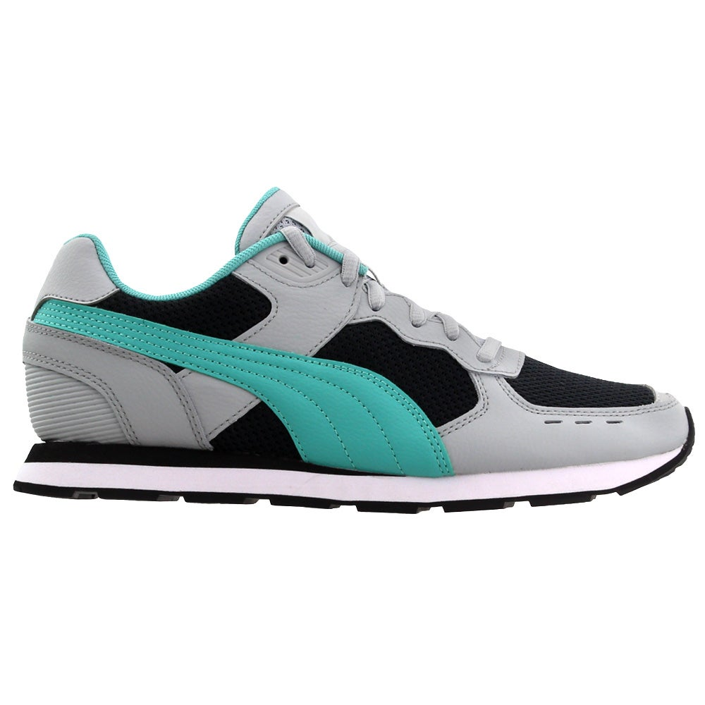 Puma Vista Lux Lace Up Sneakers Grey Mens Lace Up Sneakers