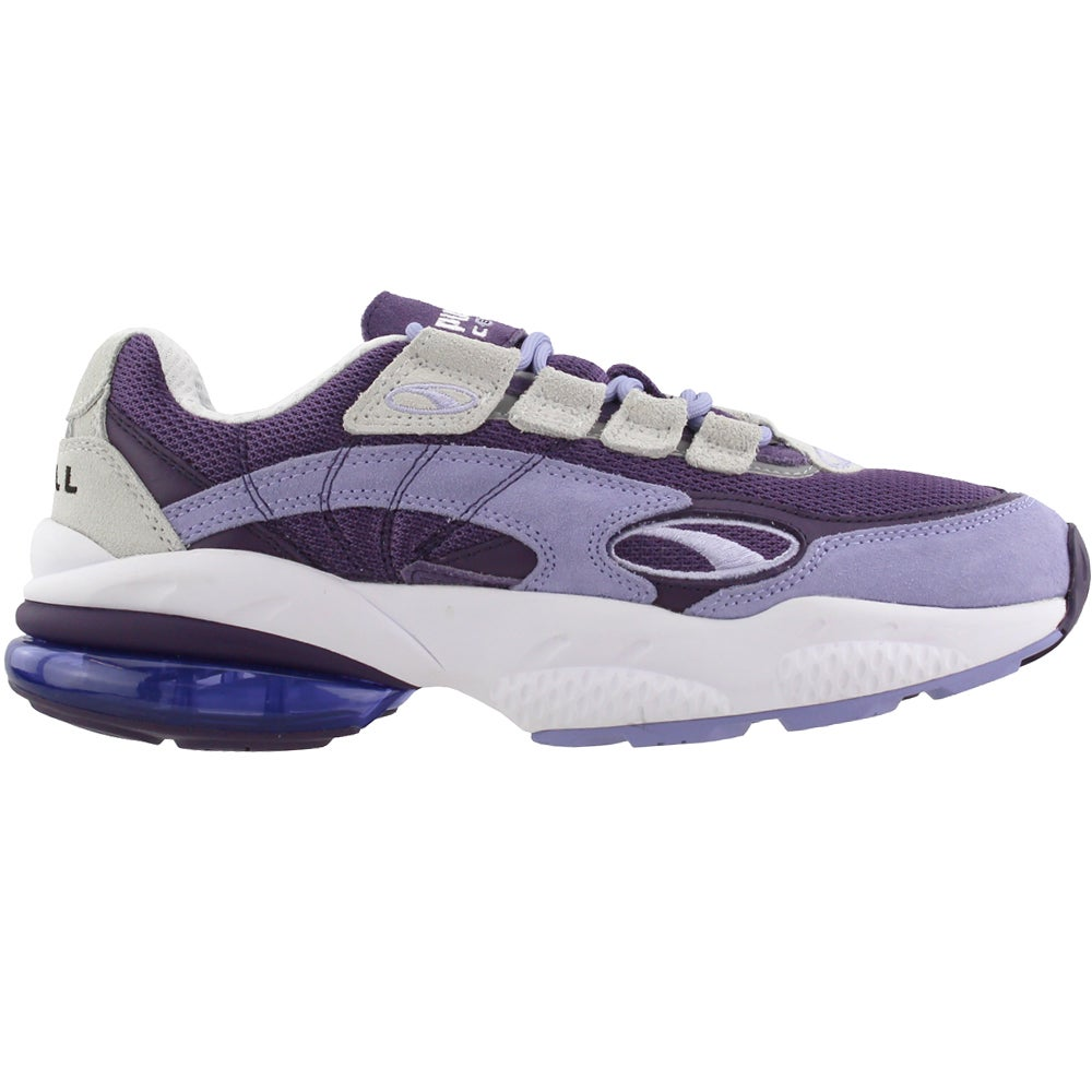 Puma CELL Venom Lace Up Sneakers Purple Womens Lace Up Sneakers