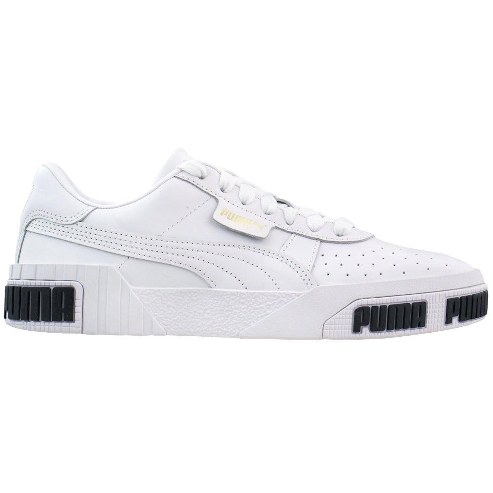 Puma Cali Bold Lace Up Sneakers White