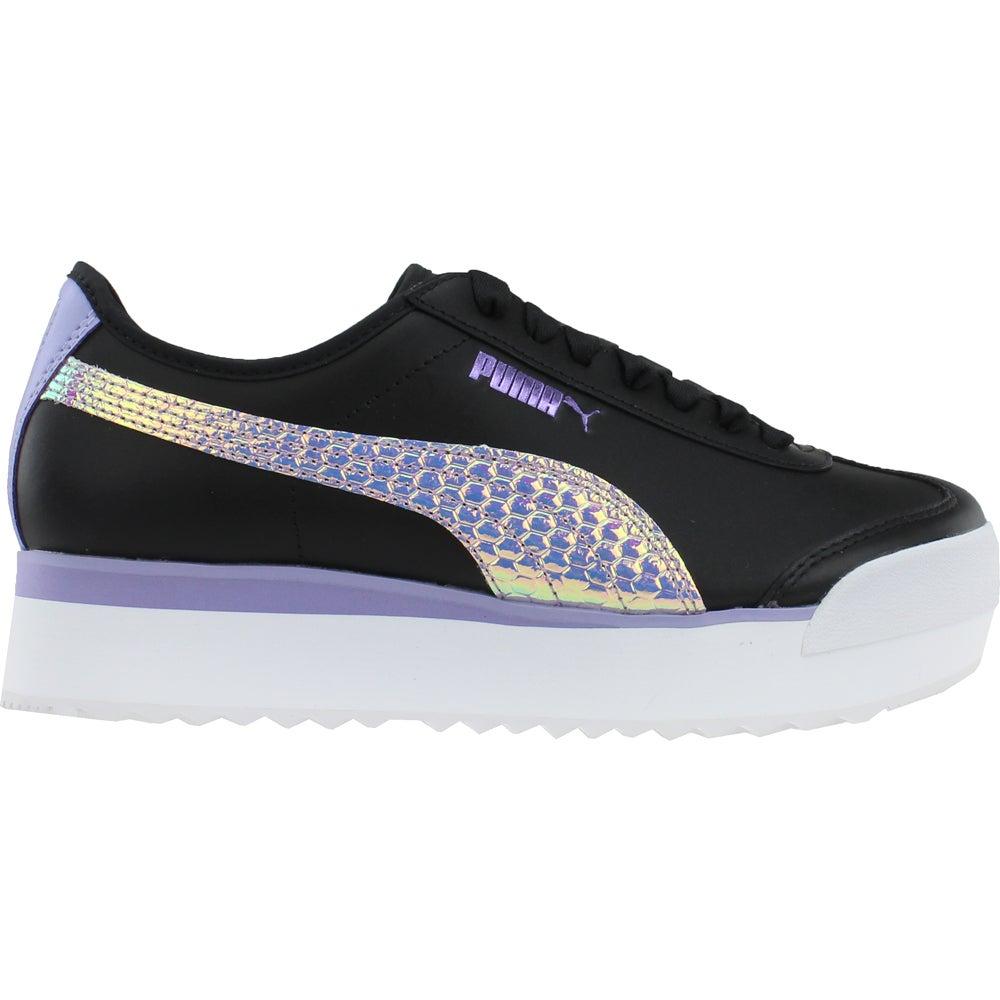 Puma Roma Amor Metallic Platform Sneakers Black Womens Platform ...