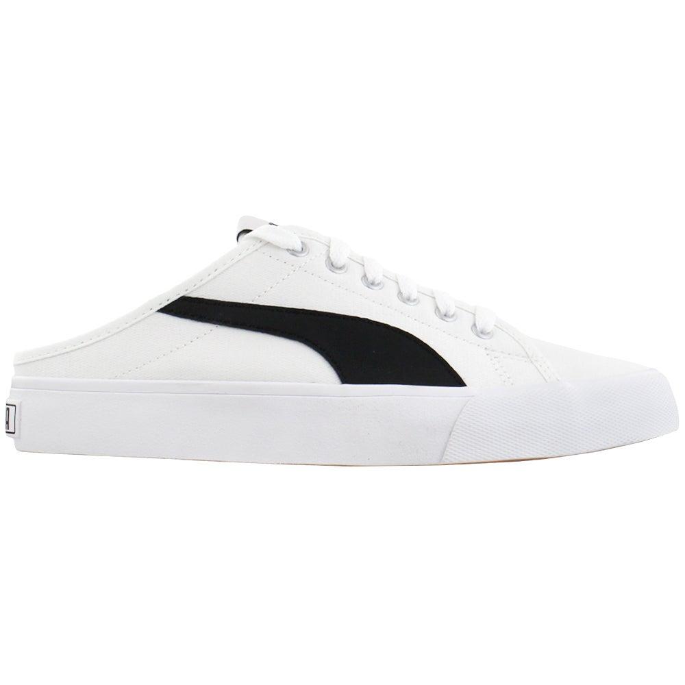 Puma Bari Mule Lace Up Sneakers White Mens Slip On Sneakers