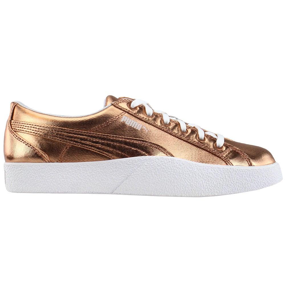 Puma Love Metallic Lace Up Sneakers