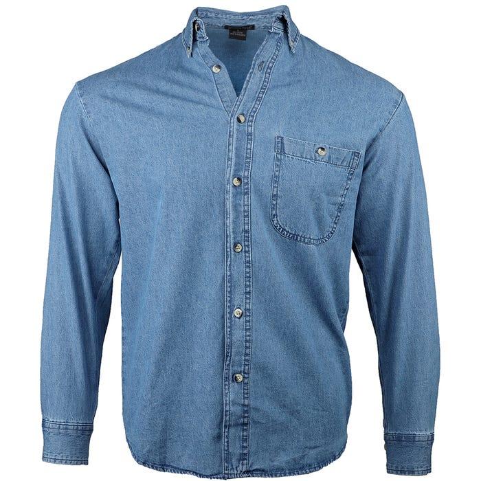 Denim & Twill Shirt