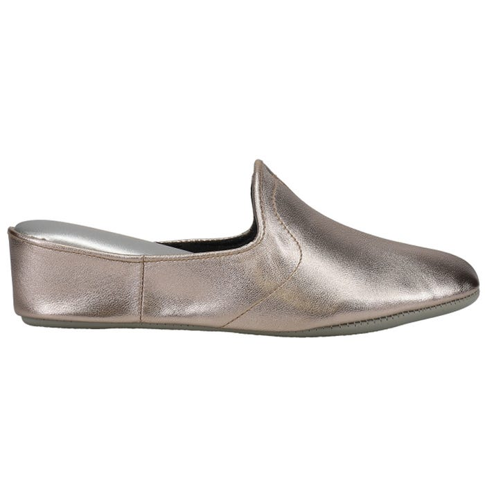cceb372d8573 Daniel Green Glamour Pewter Slippers and get free shipping on orders ...