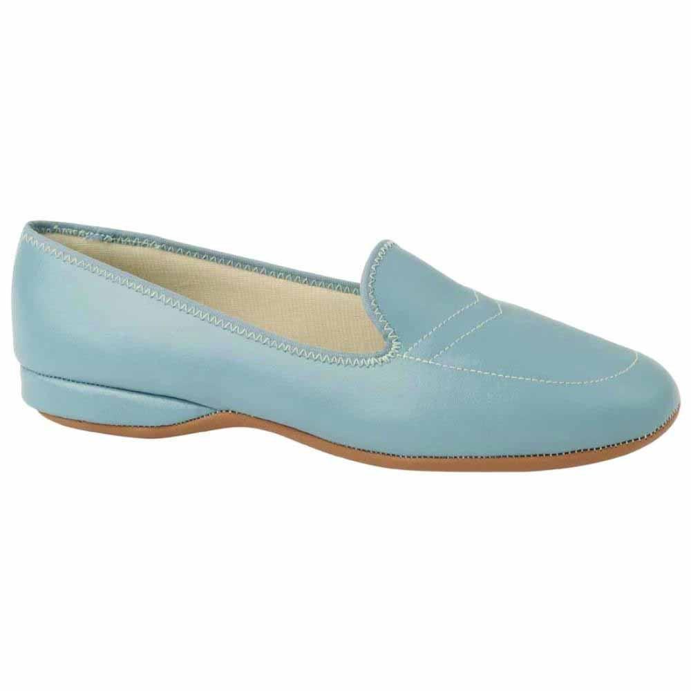 Daniel Green Meg Slippers Blue Womens Slip On Slippers