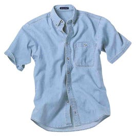 River's End Short Sleeve Denim Shirt