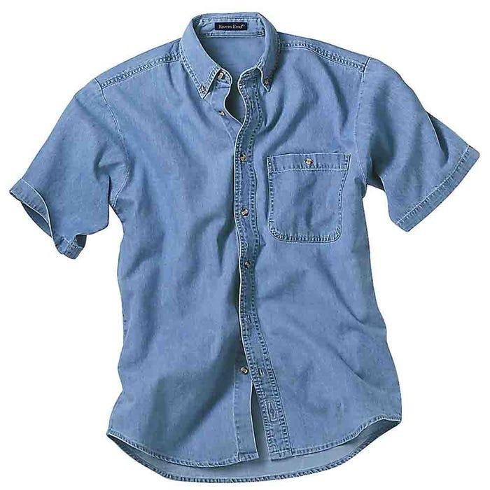 River's End Short Sleeve Denim Shirt