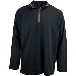 River's End Brushed Quarter Zip Jersey Pullover
