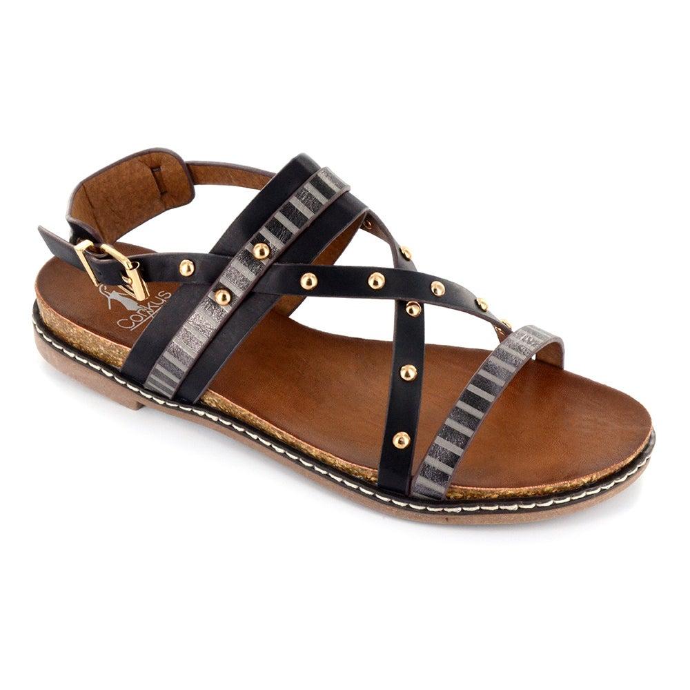 0e02c8926b7 Corkys Chloe Sandals Black- Womens- Size 7 B for sale online