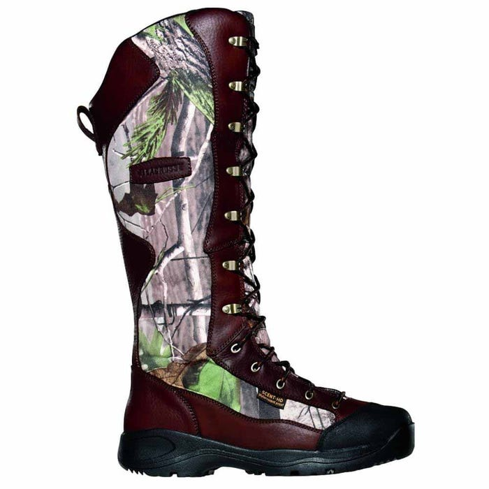 Venom Snake Boot  side zip 18in