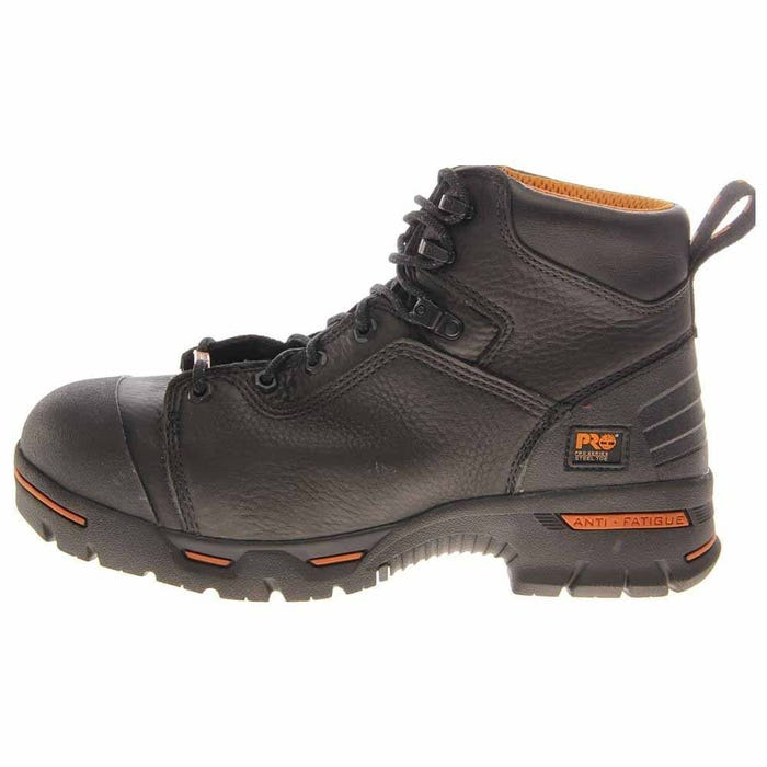 7f910c11c01751 Timberland Pro Endurance 6in Steel Toe Black Work Boots and free shipping  on orders more than  75