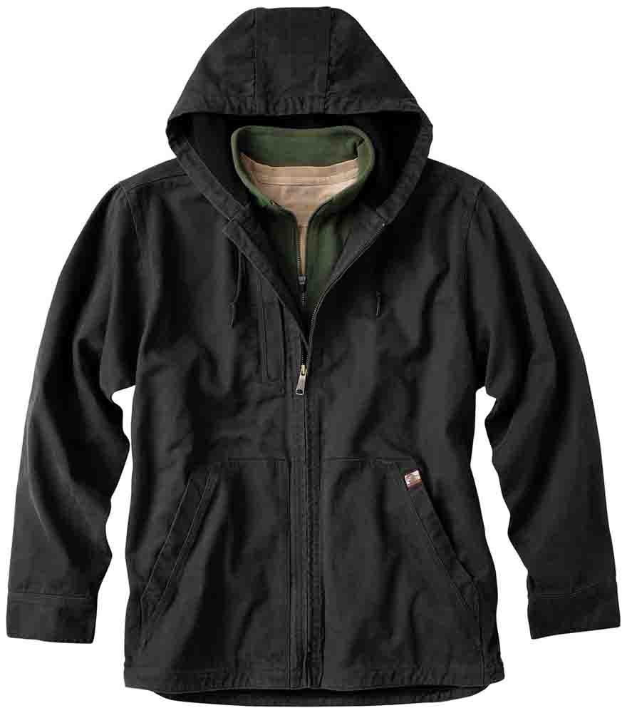 Dri Duck Laredo Jacket Black - Mens  - Size M